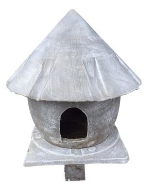 Pigeon Hok Complete (Column and Base) Whitewash Finish - 78kg