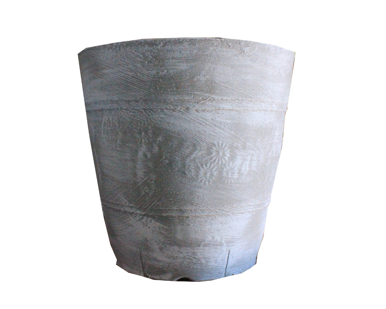 Violet Pot Large Whitewash Finish - H340mm - 13kg