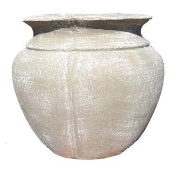 Ouma Pot Whitewash Finish - H340mm x W300mm - 12kg