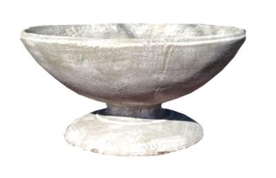 Amica Flower Pot Whitewash Finish - H380mm x W720mm - 40kg