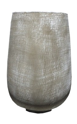 Tumbler Large Whitewash Finish - H560mm x W335mm - 24kg