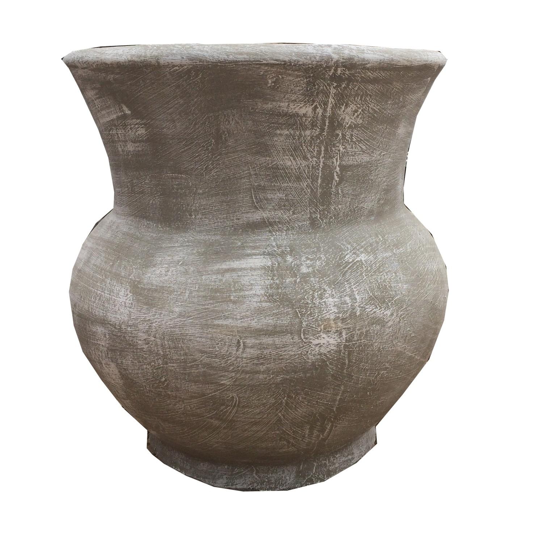 Moné Jar Whitewash Finish - H600 x W570mm - 32kg