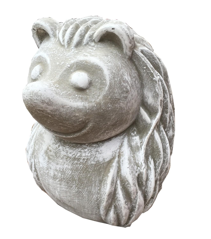 Hedgehog Small Whitewash Finish - H270mm - 6kg