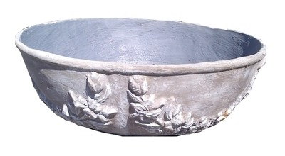 Flower Bowl Whitewash Finish - H300mm x W805mm - 65kg