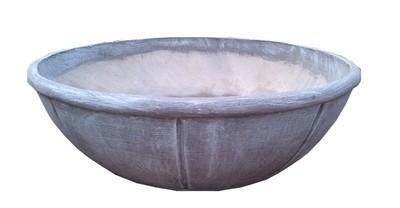 Joshua Urn Fountain Bowl Whitewash Finish - H360mm x W1010mm - 115kg