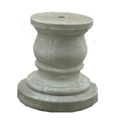 Pillar Plain Whitewash Finish - H430mm - 70kg