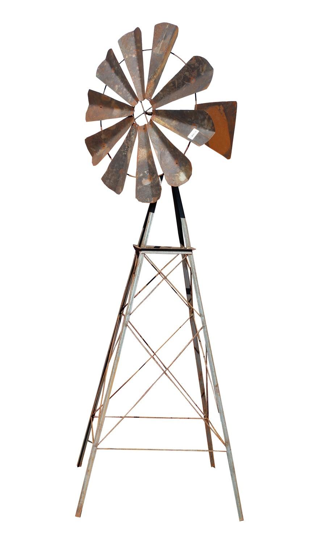Steel Windmill Medium - H1400mm