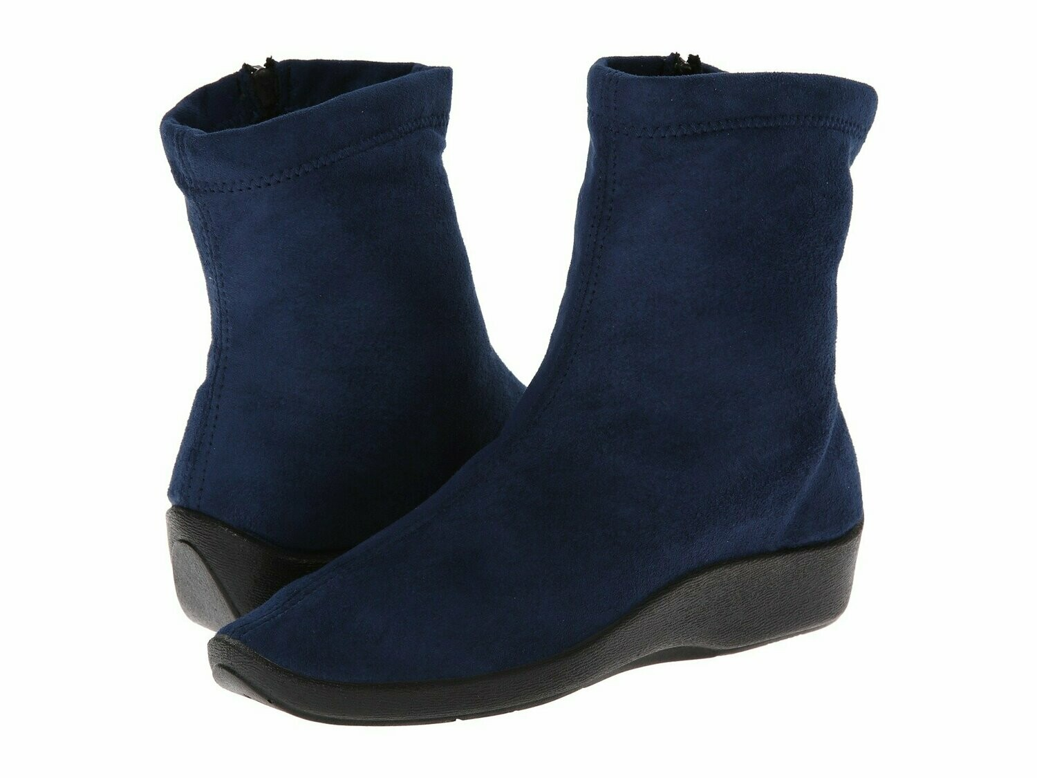 L8-Arco Navy Suede Boot