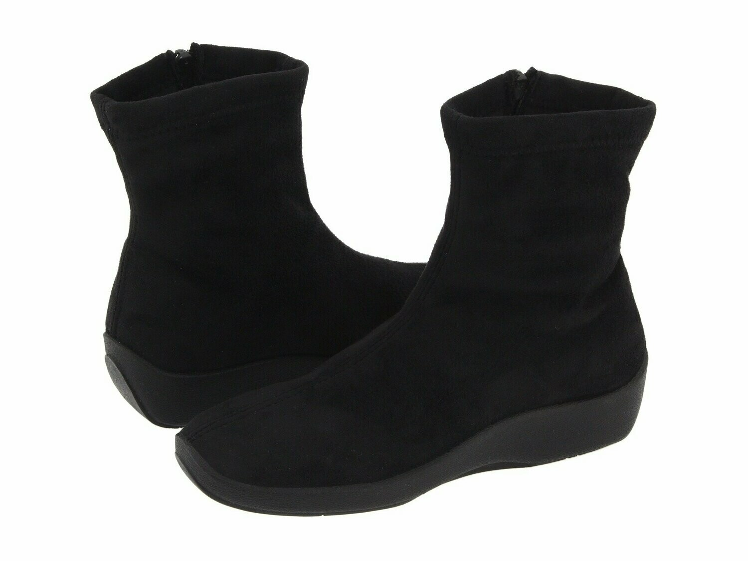 L8-Arco Black Suede Boot