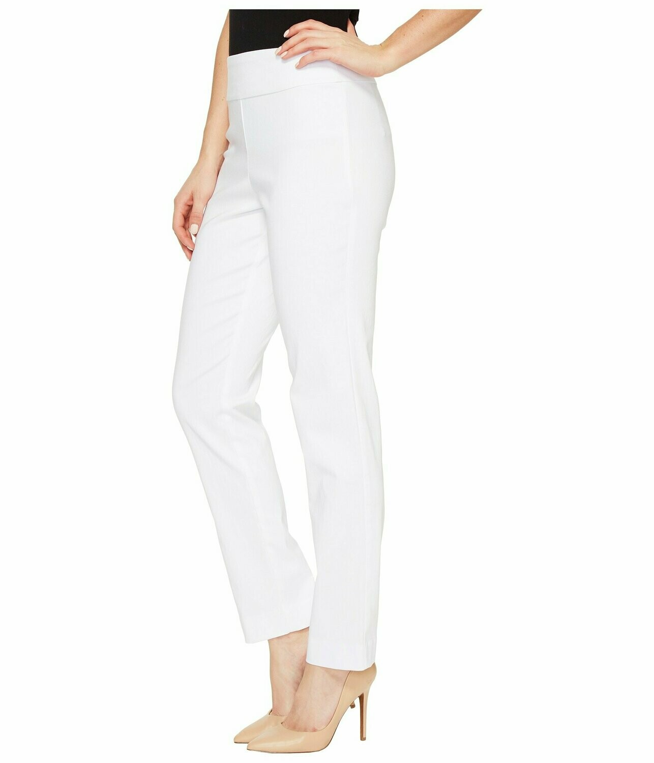 "P507 28"" Ankle Pant White"