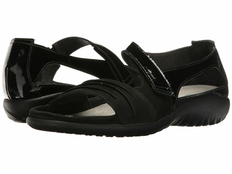 Papaki Black on Black Naot Sandal