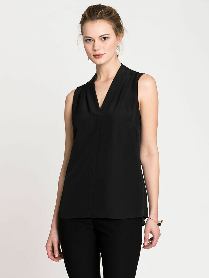 ALL1673 Easy Day to Night Top Black