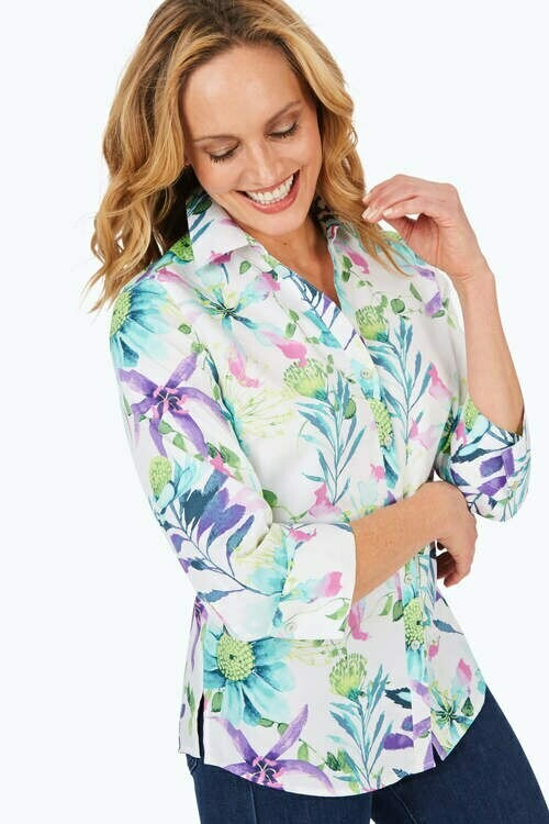 FINAL SALE 190245 Mary Floral Print
