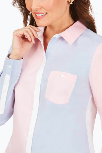 Hampton LS Multi Colorblock Shirt