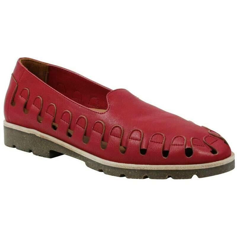 Xanthia Raspberry Vichi Leather