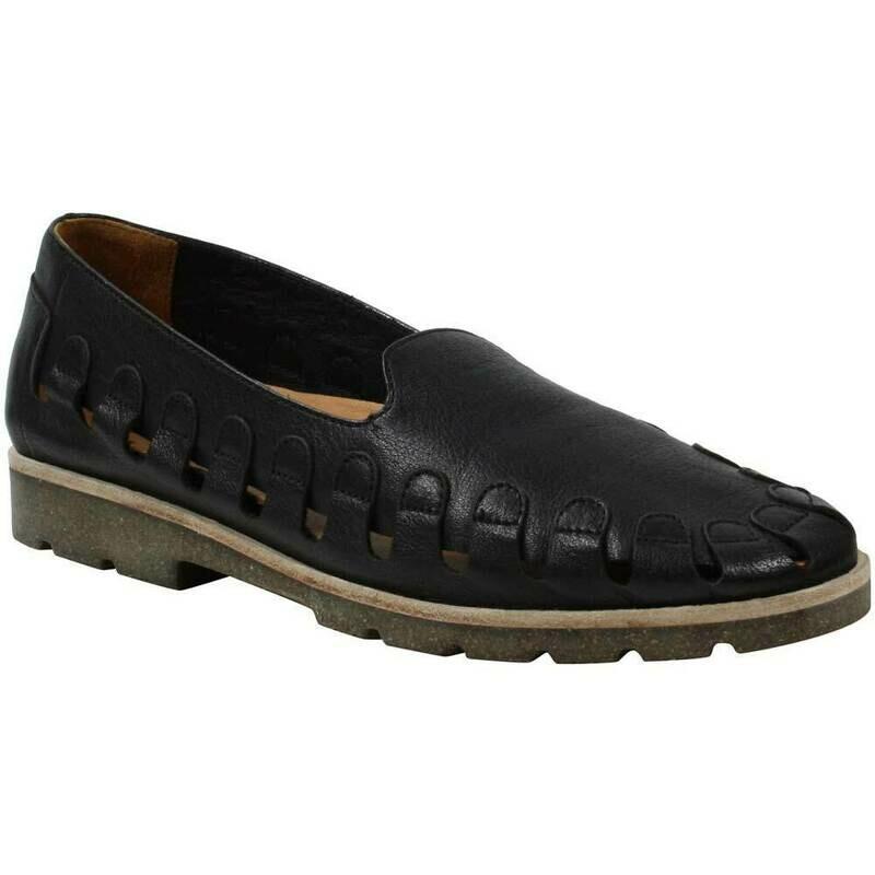 Xanthia Black Vichi Leather