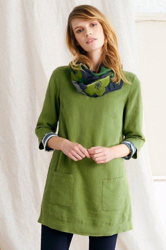 Oceanfront Tunic Dill