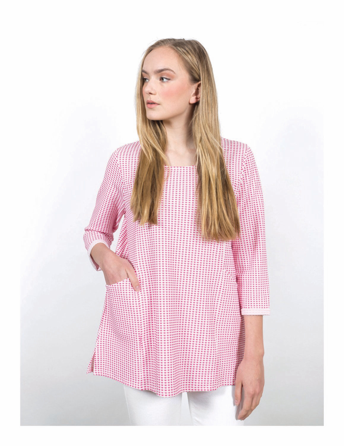 Lennox Pink Pullover