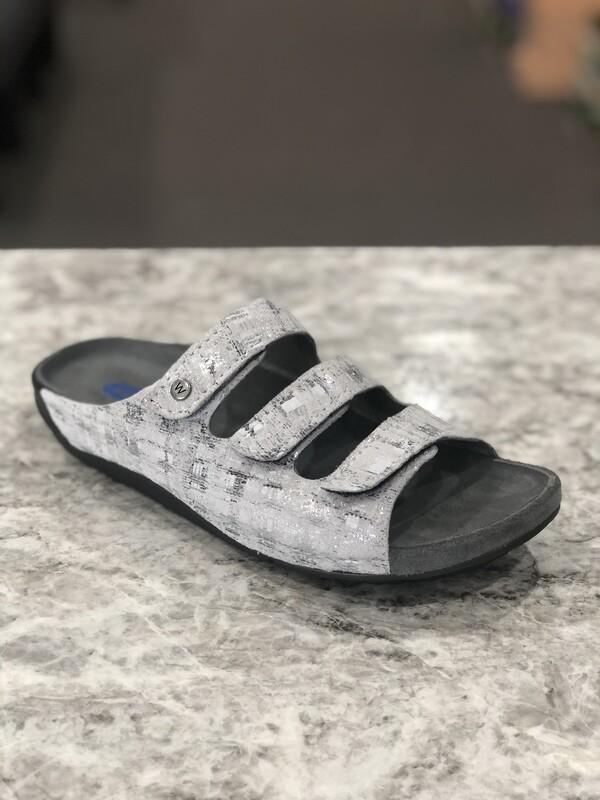 Nomad Silver Sandal