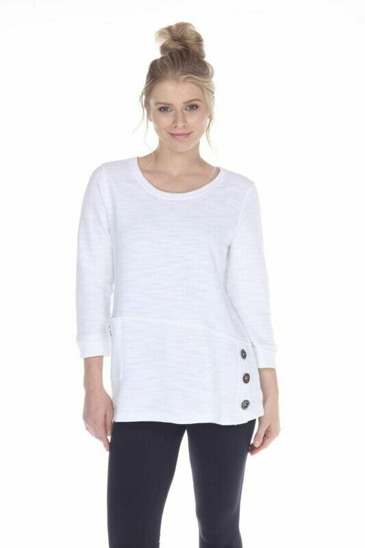 In It Together Top White