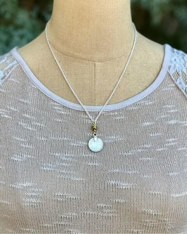 Treasure Chest Coin Necklace