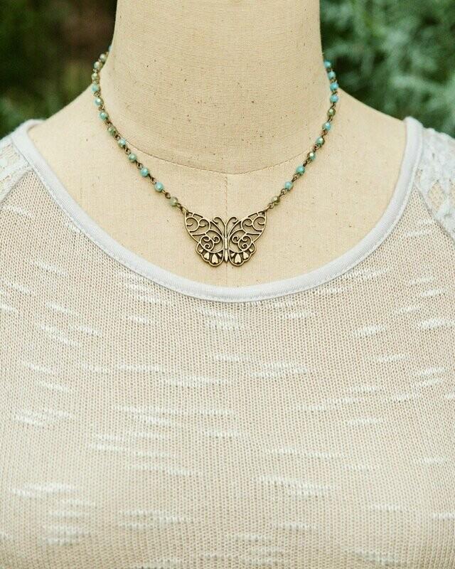 Monarch Necklace