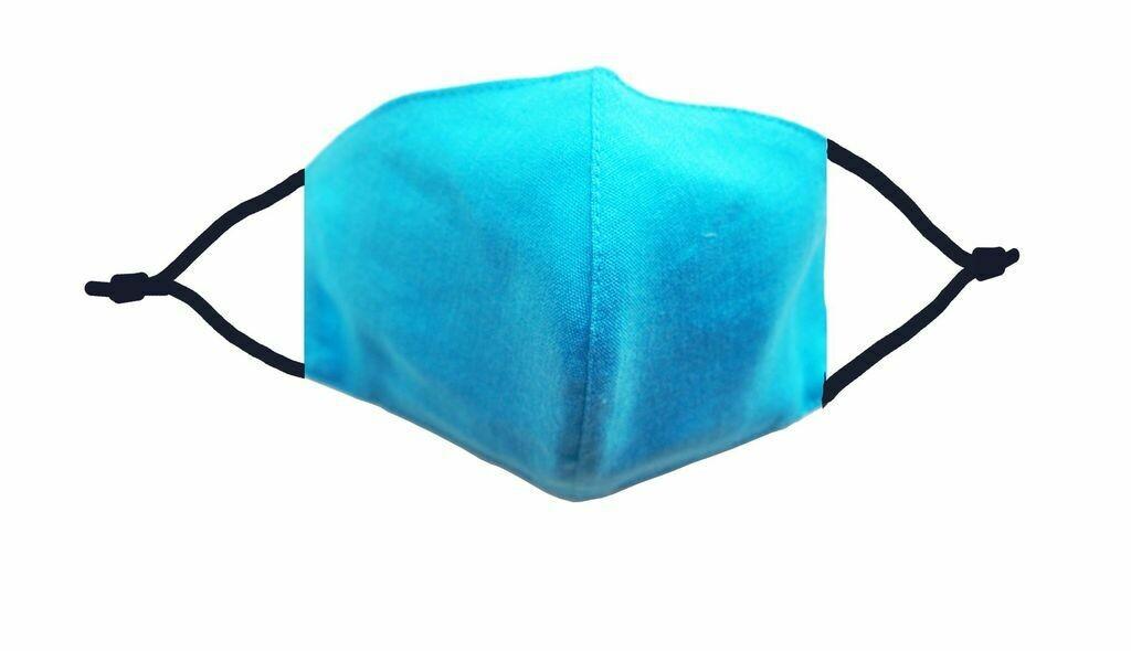 Caribbean Blue Linen Mask w/ Filter