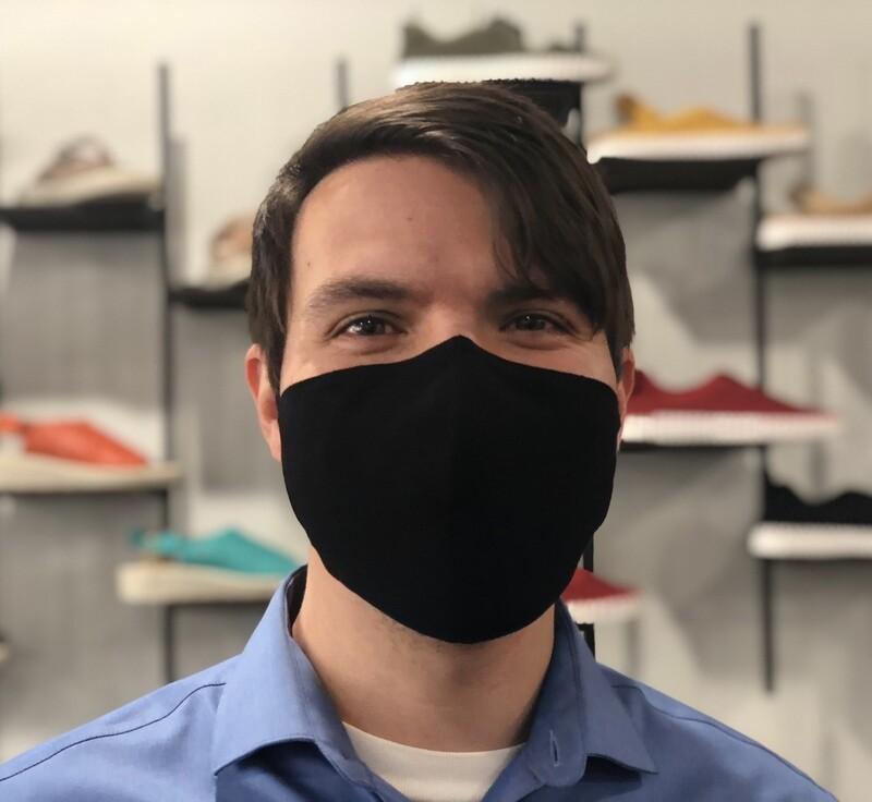 Black Linen Mask w/ Filter