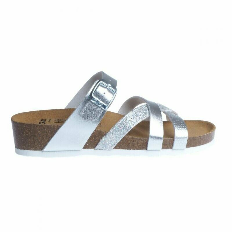 Beth Silver Cork Sandal 17272 FINAL