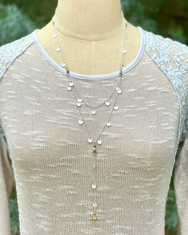 STN34 Mystical Mid-length Necklace
