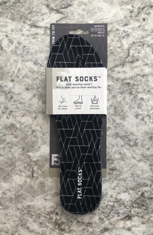 Flat Socks Black