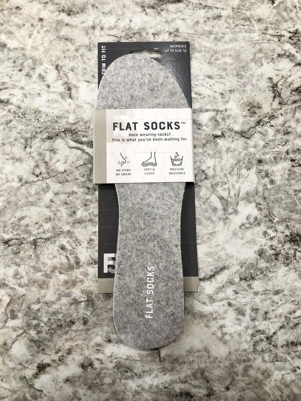 Flat Socks Grey