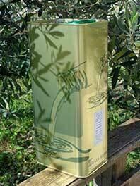Huile d'olive bio 5 litres