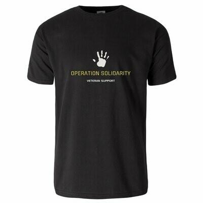 OP SOLIDARITY Veteran support Cotton T-Shirt