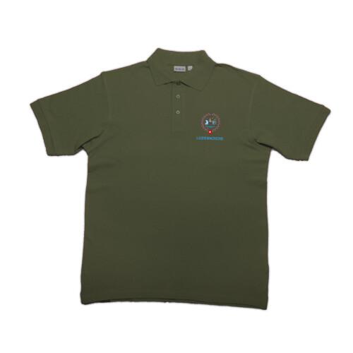 Polo-Shirt ESF 2020 mit Stickerei, khaki