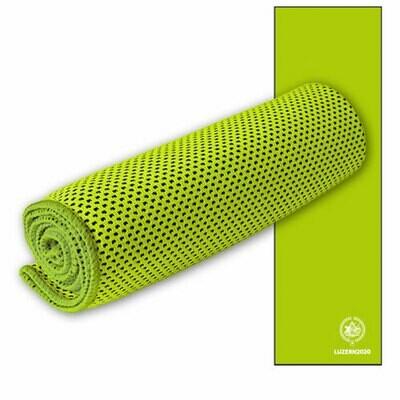 Sporttuch Cooling Towel bedruckt, 30cmx100cm, grün