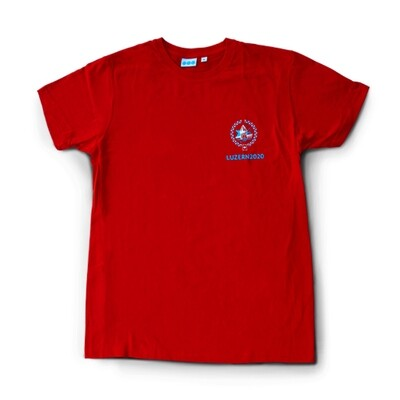 T-Shirt ESF 2020,  rot