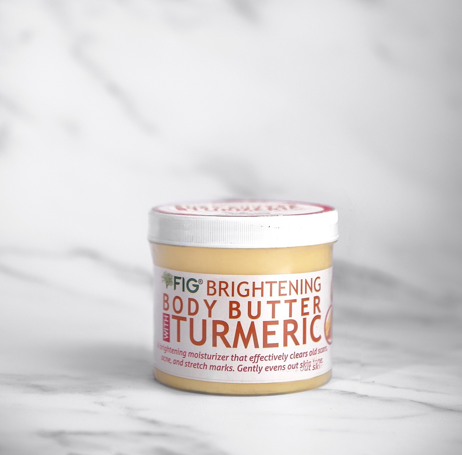 Fig Brightening Body Butter with Turmeric(250G)