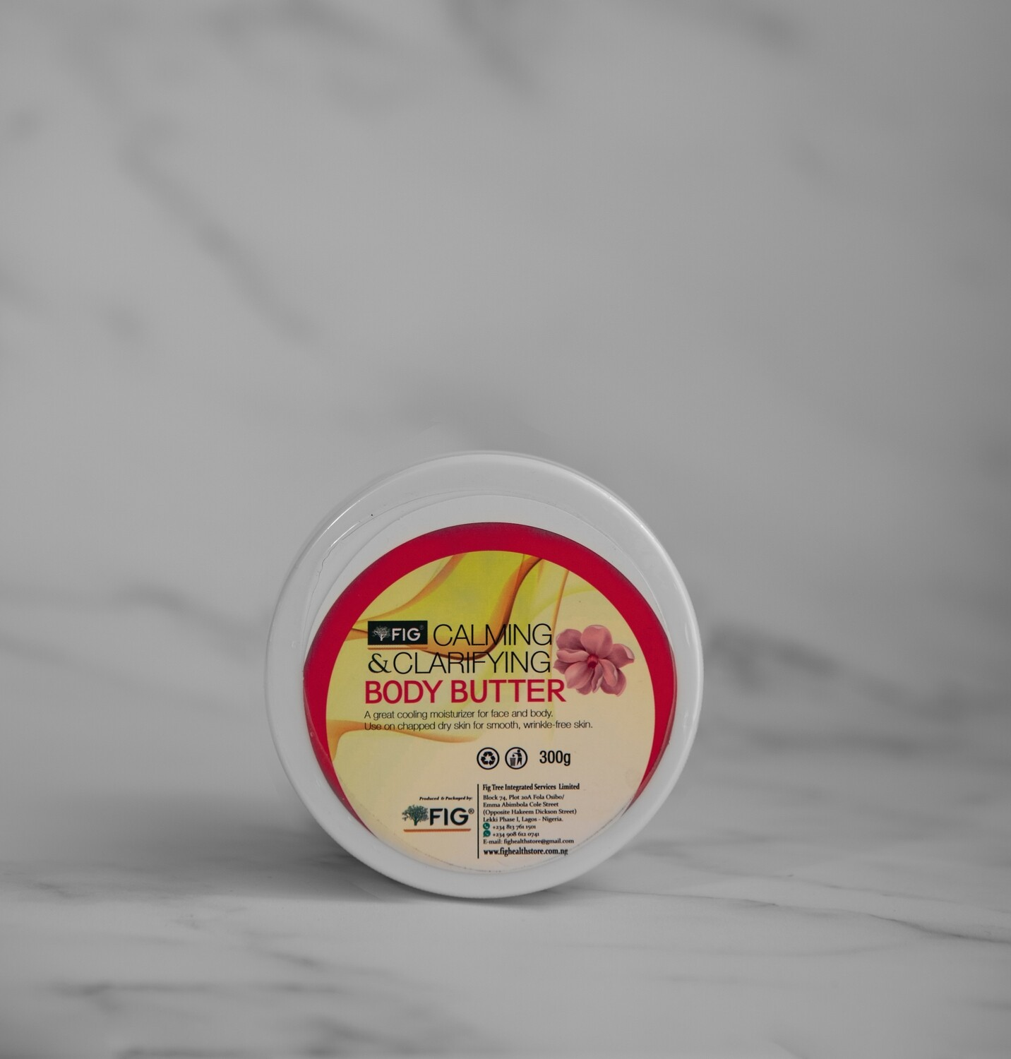 FIGTREE CALMING AND CLARIFYING BODY BUTTER (75G)