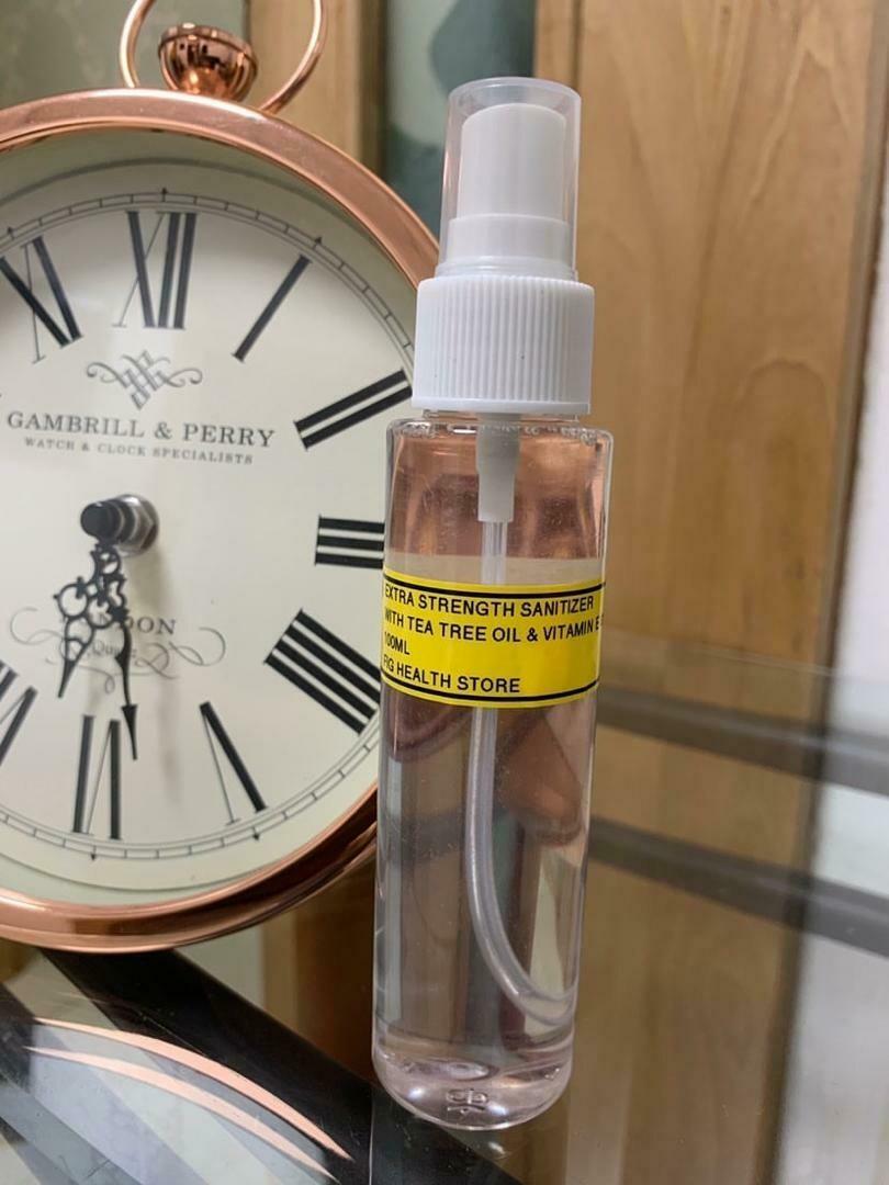 FIGTREE Extra Strength Sanitizing Spray (100ml)