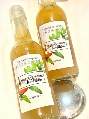FIGTREE APPLE CIDER VINEGAR WITH THE MOTHER (250ML)