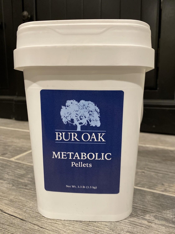 Bur Oak Metabolic Pellets