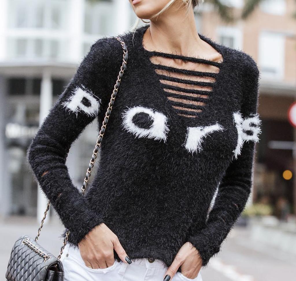 Paris Sweater - One Size