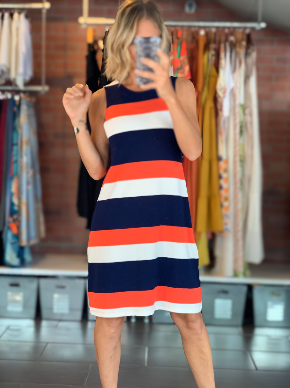Striped Multicolor Summer Dress
