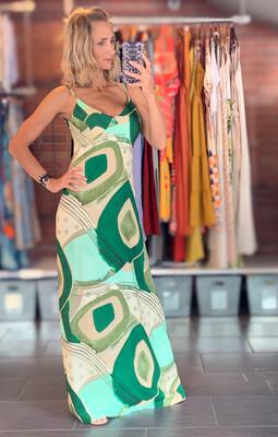 Long Viscose Summer Dress