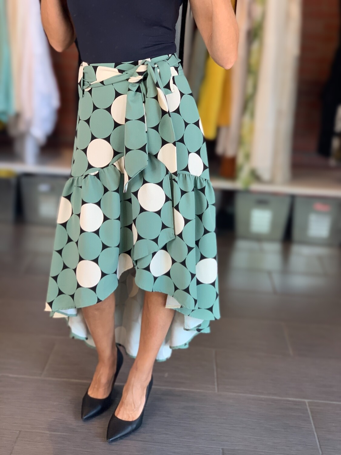 Polka Dot Skirt - One Size (2 Colors)