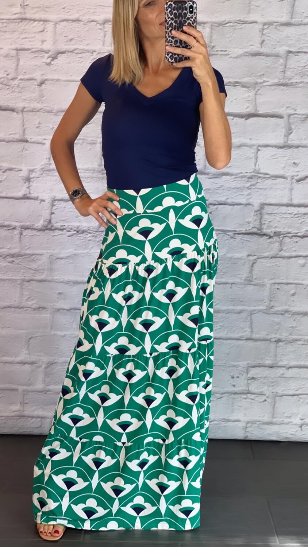 Fluity Eco-Friendly Long Skirt (SPF 50+)