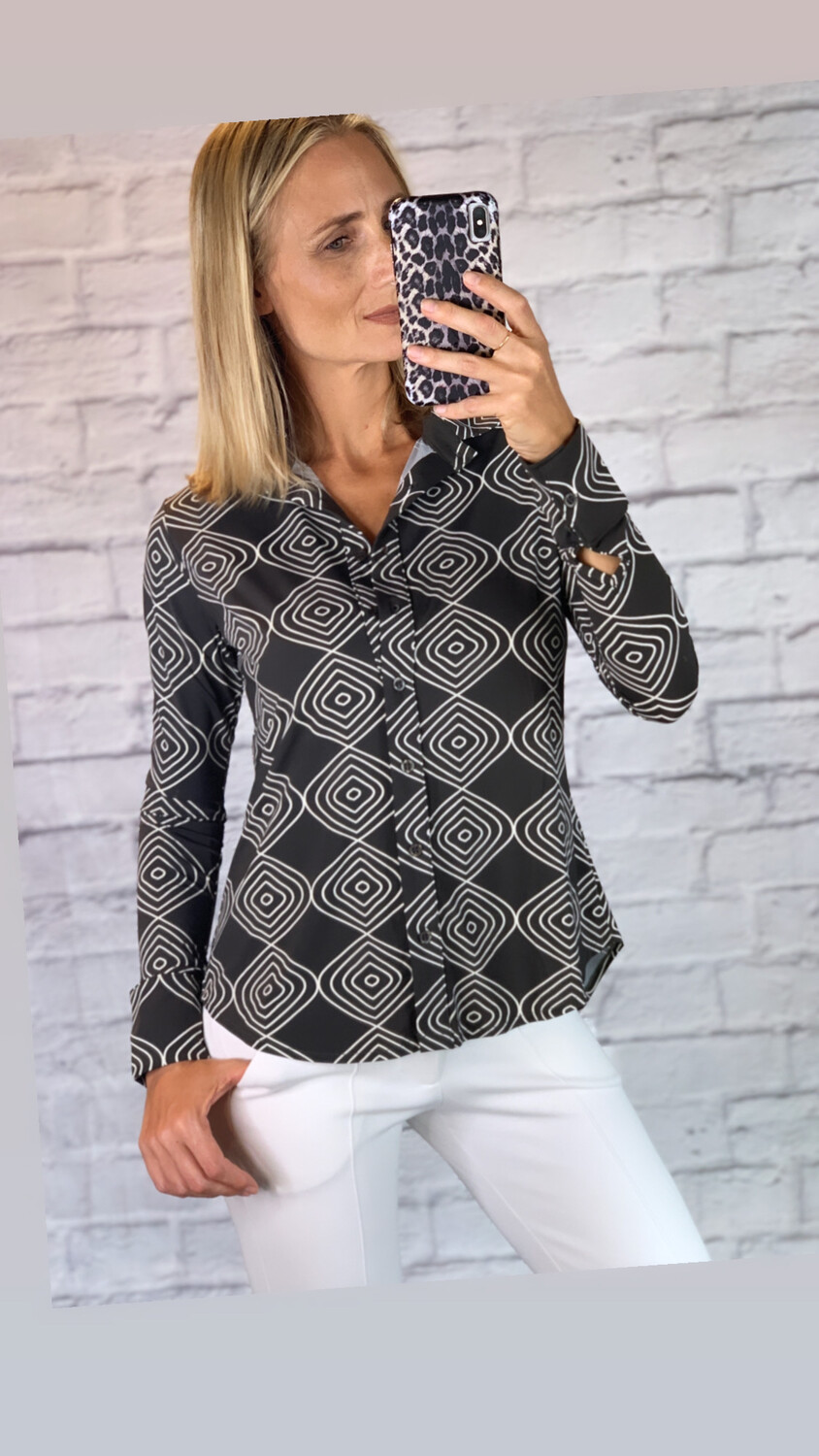 Eco-Friendly Fluity Collared Shirt (SPF 50+)