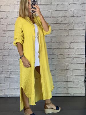 Linen Cover Up/Dress