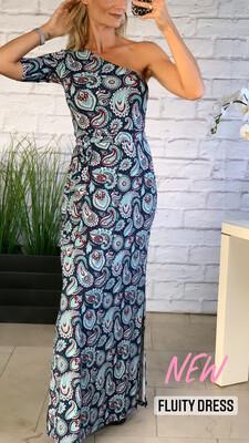 One Shoulder Fluity Dress - SPF 50+